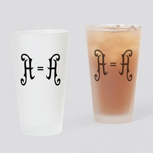 A is A Drinking Glass