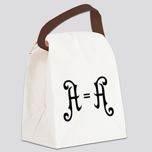 A is A Canvas Lunch Bag