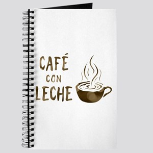 cafe con leche Journal
