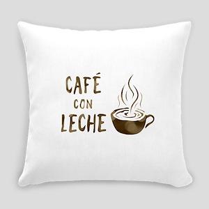 cafe con leche Everyday Pillow