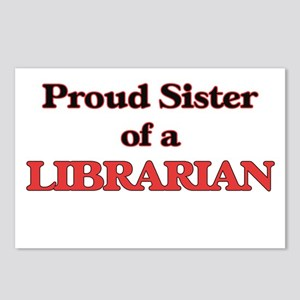 Proud Sister of a Librari Postcards (Package of 8)