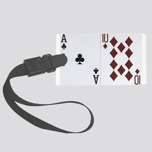 Blackjack Luggage Tag