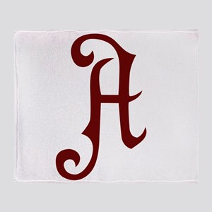 A is for... Throw Blanket