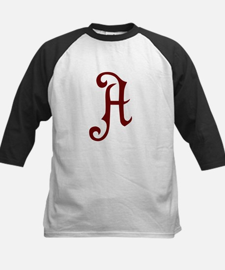 A is for... Kids Baseball Jersey
