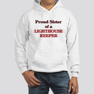 Proud Sister of a Lighthouse Kee Hooded Sweatshirt