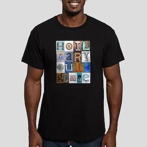 Hail Mary Full of Grace Letters T-Shirt