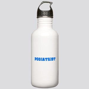 Podiatrist Blue Bold D Stainless Water Bottle 1.0L