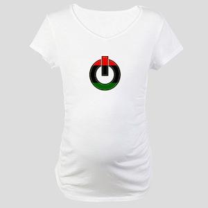 Black Power!! Maternity T-Shirt