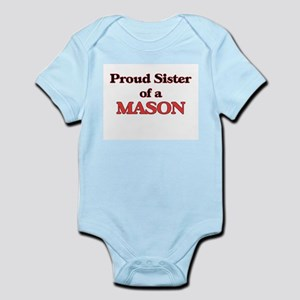 Proud Sister of a Mason Body Suit