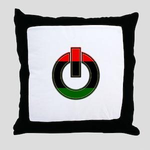 Black Power!! Throw Pillow