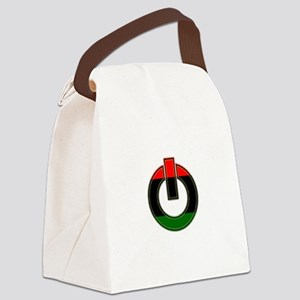 Black Power!! Canvas Lunch Bag
