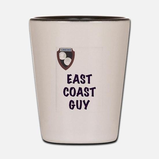 Cool East coast Shot Glass