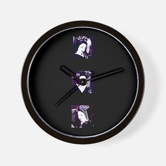 "Geisha by ""Chole Wall Clock"