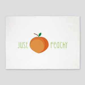 Just Peachy 5'x7'Area Rug