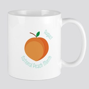 National Peach Month Mugs