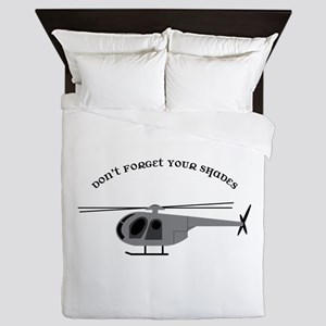 Dont Forget your Shades Queen Duvet