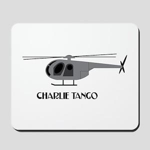 Charlie Tango Chopper Mousepad