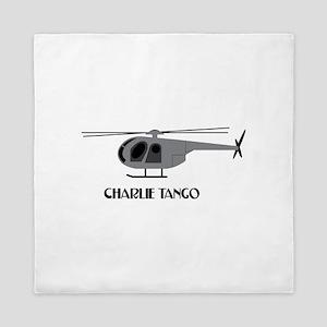 Charlie Tango Chopper Queen Duvet