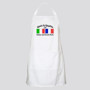 Italian-French Parts BBQ Apron