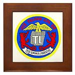 USS Telfair (APA 210) Framed Tile