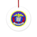 USS Telfair (APA 210) Ornament (Round)
