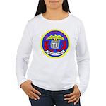 USS Telfair (APA 210) Women's Long Sleeve T-Shirt