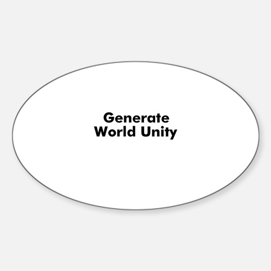Generate World Unity Oval Decal