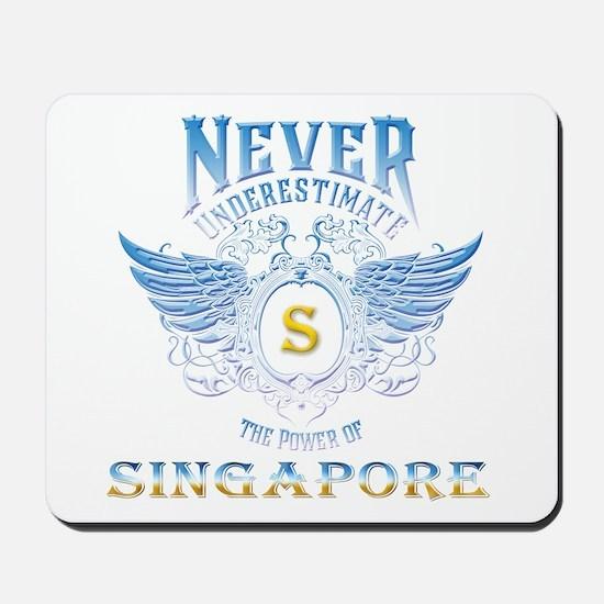 never underestimate the power of Singapo Mousepad