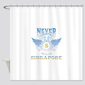 never underestimate the power of Si Shower Curtain