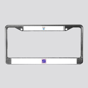 When i play my Sitar I'm in my License Plate Frame