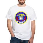 USS Telfair (APA 210) White T-Shirt