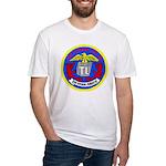 USS Telfair (APA 210) Fitted T-Shirt
