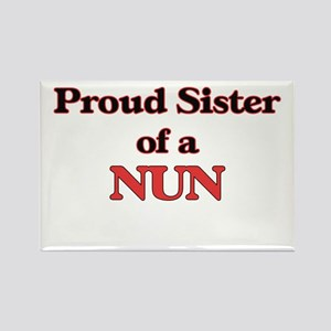 Proud Sister of a Nun Magnets