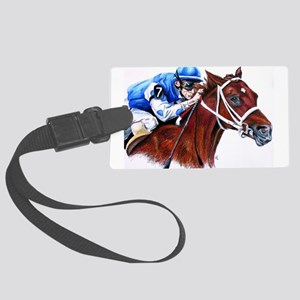 Smarty Jones Large Luggage Tag