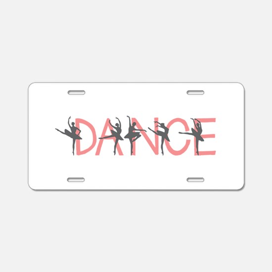 Ballet Dancer Aluminum License Plate