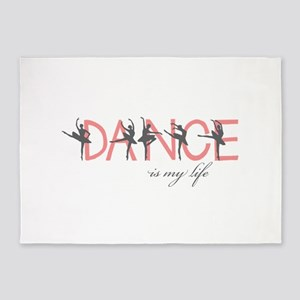Dance Is My Life 5'x7'Area Rug