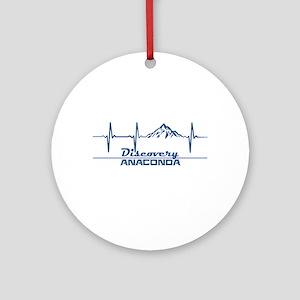 Discovery - Anaconda - Montana Round Ornament