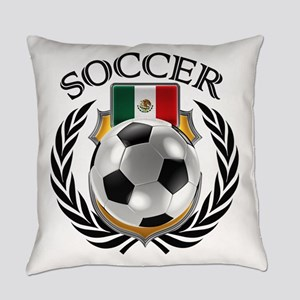 Mexico Soccer Fan Everyday Pillow