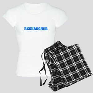 Researcher Blue Bold Design Pajamas