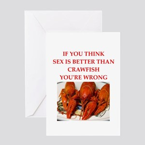 crawfish Greeting Cards
