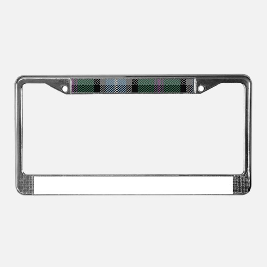 Alexander of Menstry Hunting License Plate Frame