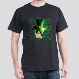 St Patrick Skull Cartoon T-Shirt