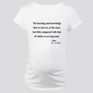 Plato 14 Maternity T-Shirt