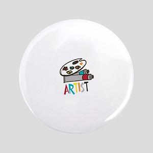 Artist Paints Button