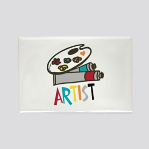Artist Paints Magnets