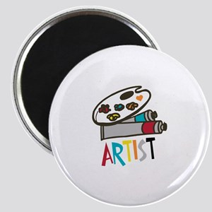 Artist Paints Magnets