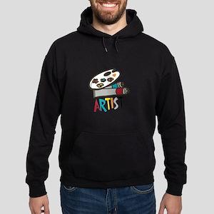 Artist Paints Hoodie