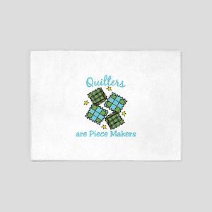 Quilt Pieces 5'x7'Area Rug