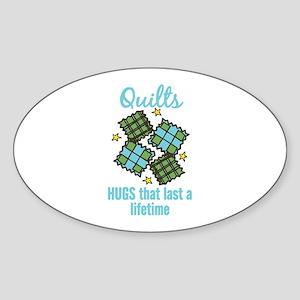 Quilts Last A Lifetime Sticker