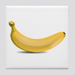 Banana Tile Coaster